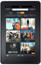 A popular tablet, Kindle Fire