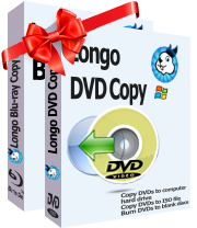 purchase the both Longo DVD Copy and Longo Blu-ray Copy to copy blu-ray/DVDs to hard drive, burn blu-ray/DVDs to blank  blu-ray/DVD discs