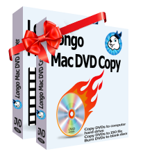 purchase Longo Mac DVD Copy and Longo Mac DVD Ripper at discount price, rip your DVDs to iPhone, iPad, Apple TV, mp4, mp3, AVI and other formats on mac, or copy DVDs to computer hard drive or burn DVDs to blank discs on Mac OS easily.
