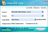 interface of longo dvd copy