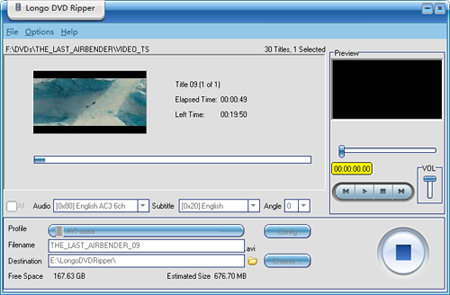 Longo DVD Ripper, easiest DVD Ripper soft, rip DVDs to